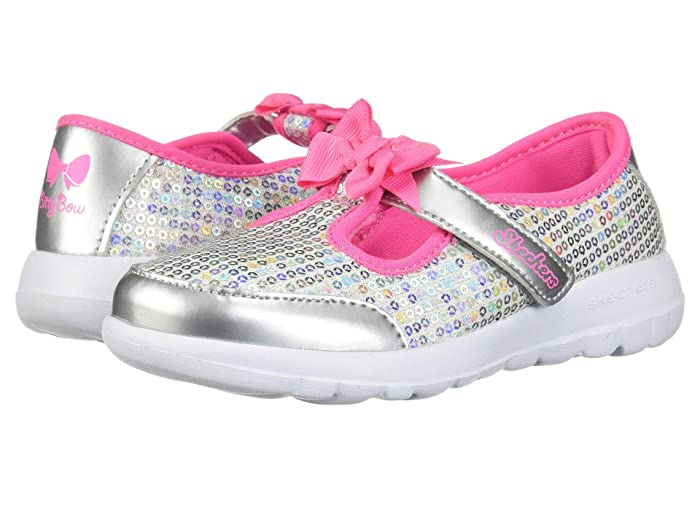 SKECHERS KIDS Go Walk Joy Sugary Sweet 81180N (Infant/Toddler/Little Kid)