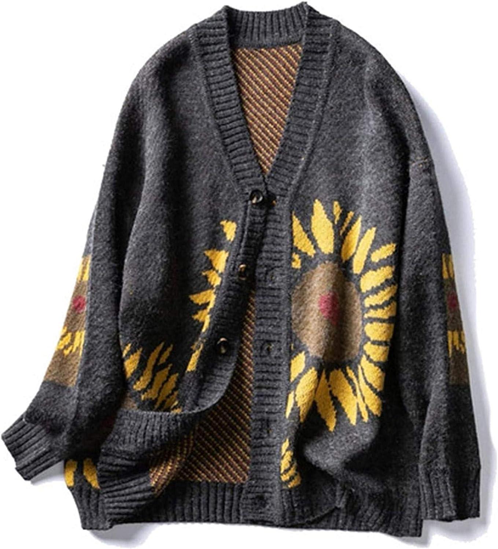 Fashion Men Sweater Blouse Winter Harajuku Cardigan Sweater Vintage Men Clothing