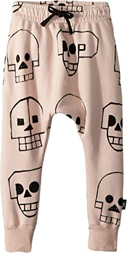 Skull Robot Baggy Pants (Toddler/Little Kids)