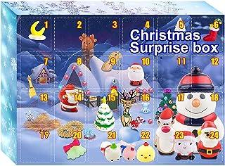 クリスマスカウントダウンカレンダー、クリスマスアドベントカウントダウンギフト、2022年クリスマスサプライズカウントダウンカレンダー、おもちゃクリスマスアドベントカレンダー、24日間のサプライズ、24のランダムモデル、完璧なギフト Yelei