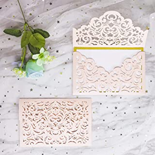 Best blush and ivory wedding invitations Reviews