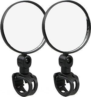 Thlevel Cykelspegel 2 x universell cykling mountainbike cykelstyre backspegel med 360 graders rotation