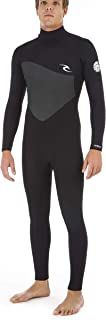 RIP CURL Omega 5/3MM Back Zip Wetsuit Black - Easy Stretch & Lightweight