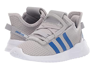 adidas Originals Kids U_Path Run (Toddler) (Grey/Blue/White) Boy