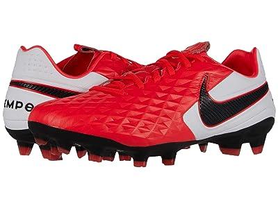 Nike Tiempo Legend 8 Pro FG (Laser Crimson/Black/White) Cleated Shoes