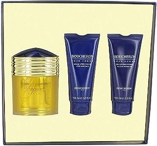 Pour Homme by Boucheron for Men - Eau de Parfum, 100 ml + 100 ml + 100 ml, Count 3