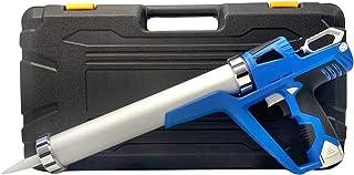 12V Cordless Electric Caulking Gun - Sealant & Adhesive Cartridges or Tubes, Drip-free Silicone Gun