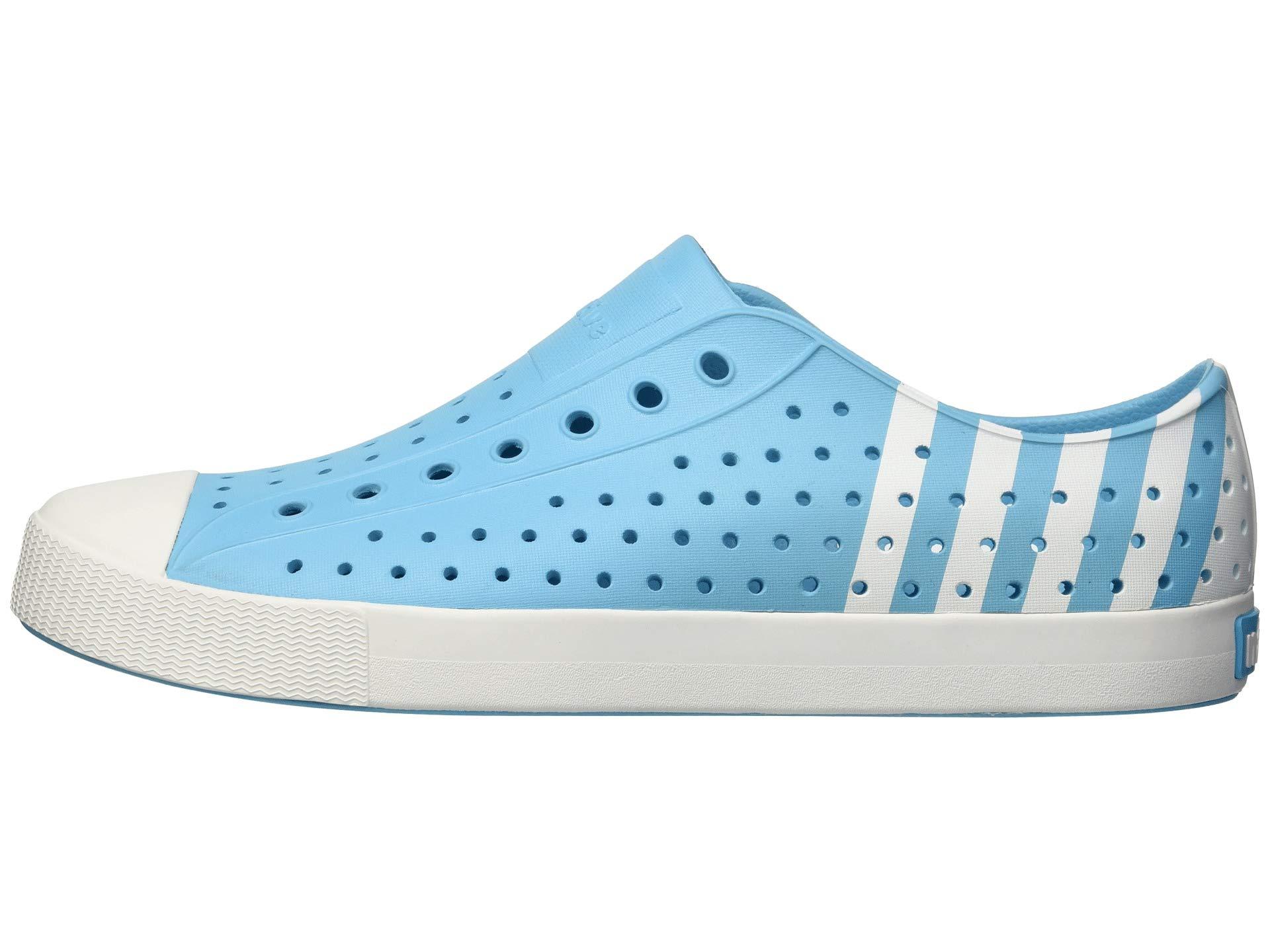 shell shell Jefferson Shoes Stripe Surfer Blue Native White qTfxwq8