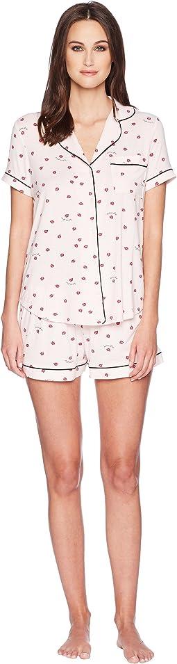 Ladybug Shorty Classic Pajama Set