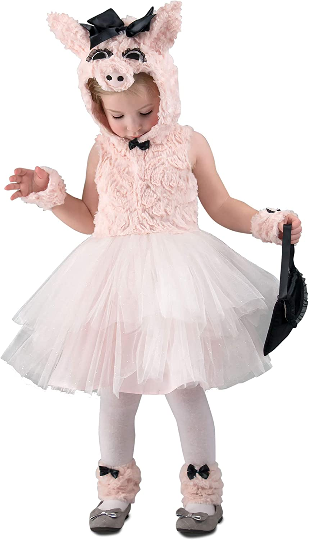 Princess Paradise Baby Girls Pink Piggy Went to Market Halloween Costume 1824M
