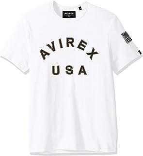 Avirex Men's AVF19BT03-WHITE