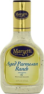 Marzetti Dressings, Aged Parmesan Ranch, 16 Ounce (Pack of 6)