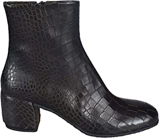 DEL CARLO Luxury Fashion Womens 10819OSLOMILITARE Grey Ankle Boots | Fall Winter 19