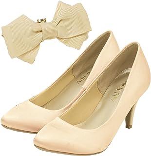 [アッドルージュ] パンプス レディース 靴 ヒール 美脚 リクルート 結婚式 フォーマル【v640-641-642-a 】