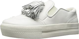The Fix Womens Jasper Slip-on Tassel Fringe Fashion Sneaker