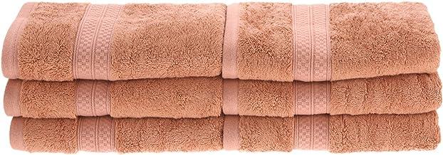 مجموعة مناشف حمام سوبيريور من رايون مصنوعة من الخيزران والقطن، ناعمة/ماصة Hand Towel Set 650GSM HAND SA