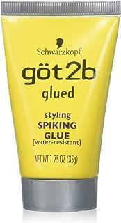 Schwarzkopf got2b Glued Styling Spiking Glue 1.25 oz (Pack of 6)