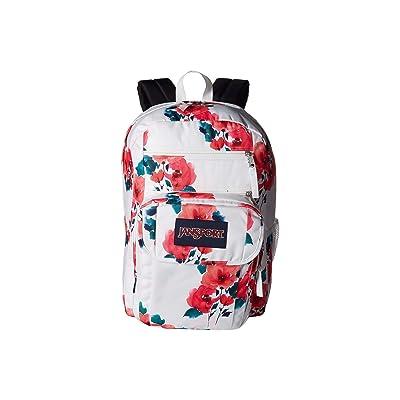 JanSport Digital Student (Watercolor Roses) Backpack Bags