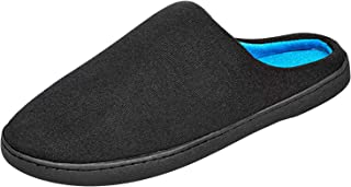 4How Mens Memory Foam Clog Slippers Comfy Warm Scuffs Indoor Outdoor House Shoes