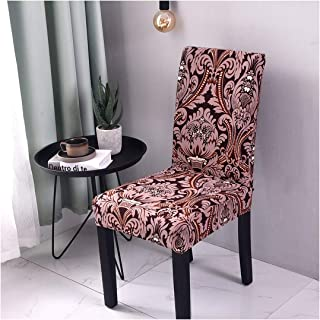 yuexianghui GeoPrinted Wedding Chair Covers Dining Room Chair Cover Spandex Slipcovers Stretch Hotel Office Banquet Chair Seat Cover,Color 18,Universal Size