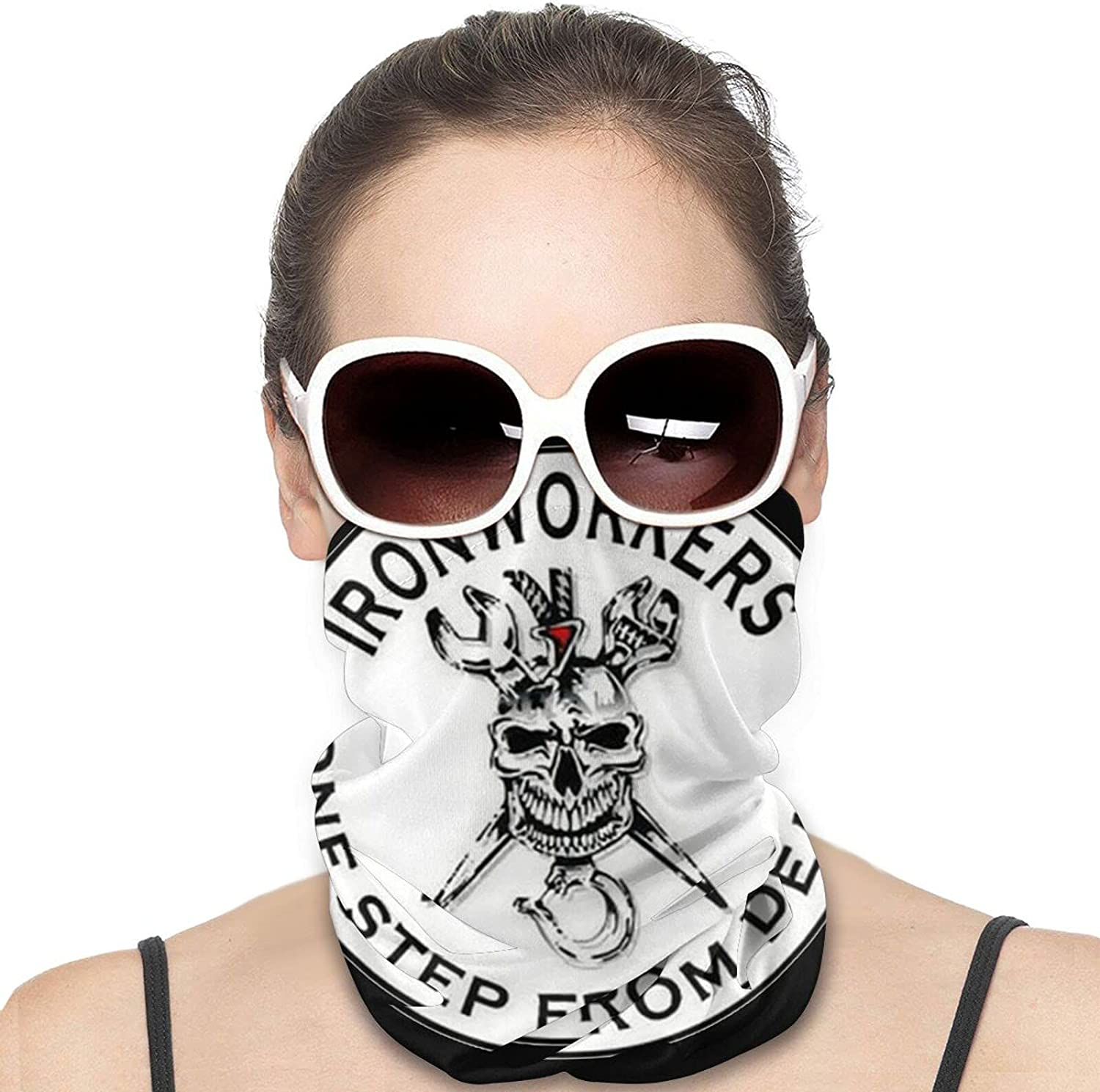 Ironworker Crossed Tools Face Mask Scarf Face Cover Uv & Dust Protection - Pull Over Masks & Bandana - Fishing, Running & Hiking Unisex