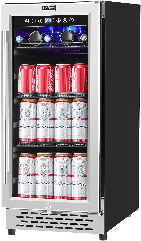 Buy COLZER 9 Inch Beverage Cooler Refrigerator   9 Cans ...