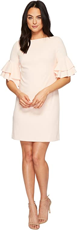 Silvana Luxe Tech Crepe Dress