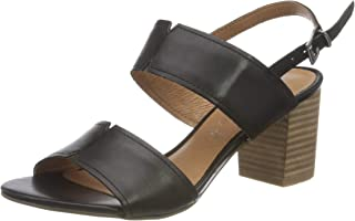 MARCO TOZZI 2-2-28301-26 Leder Sandale, Sandalia con taln Mujer