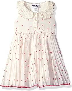 Baby Girls' Dot Floral PLTD Peterpan Collar Sundress