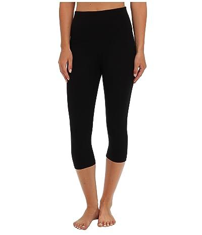 Yummie Talia Capri Cotton Shaping Legging (Black) Women