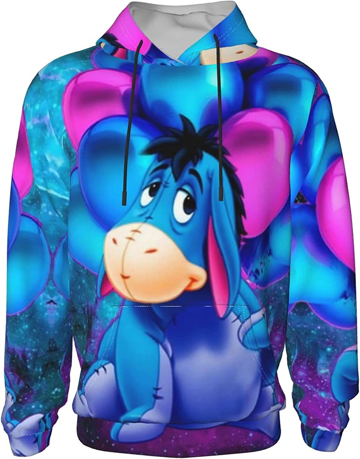 Outstanding Eeyore Youth Hoodies Casual Boys And Girls Long Hoodie Pullover Safety and trust