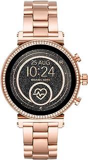 Smartwatch Pantalla táctil para Mujer de Connected con Correa en Acero Inoxidable MKT5063
