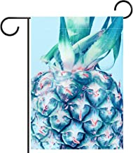 Huis Tuin Vlag DubbelzijdigLente Zomer Yard Outdoor Decoratie 28x40 inch, stijlvolle aquarel fruit