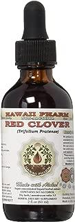 Red Clover Alcohol-FREE Liquid Extract, Organic Red Clover (Trifolium Pratense) Dried Leaf Glycerite 2 oz