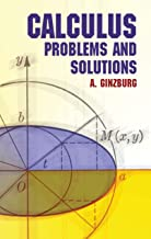 Calculus: Problems and Solutions (Dover Books on Mathematics) (English Edition)