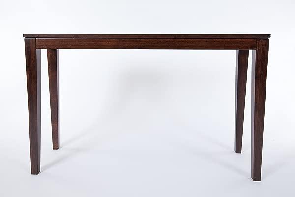 Bamboogle Interiors 10 1448J Brazil Collection Modern Bamboo Console Table In Rich Java Espresso Finish