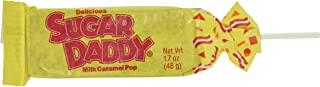 Charms Sugar Daddy Milk Caramel LolliPops [case of 24]