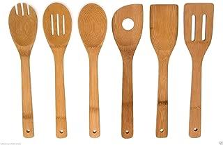 6 Piece Set Bamboo 12