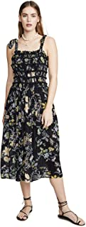 free people floral midi dress