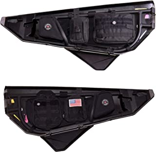 Bombshell Gear Can Am UTV Storage Door Bags w/MOLLE Pouches (Pair)