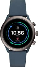 Fossil Men's Sport Metal and Silicone Touchscreen Smartwatch with Heart Rate, GPS,..