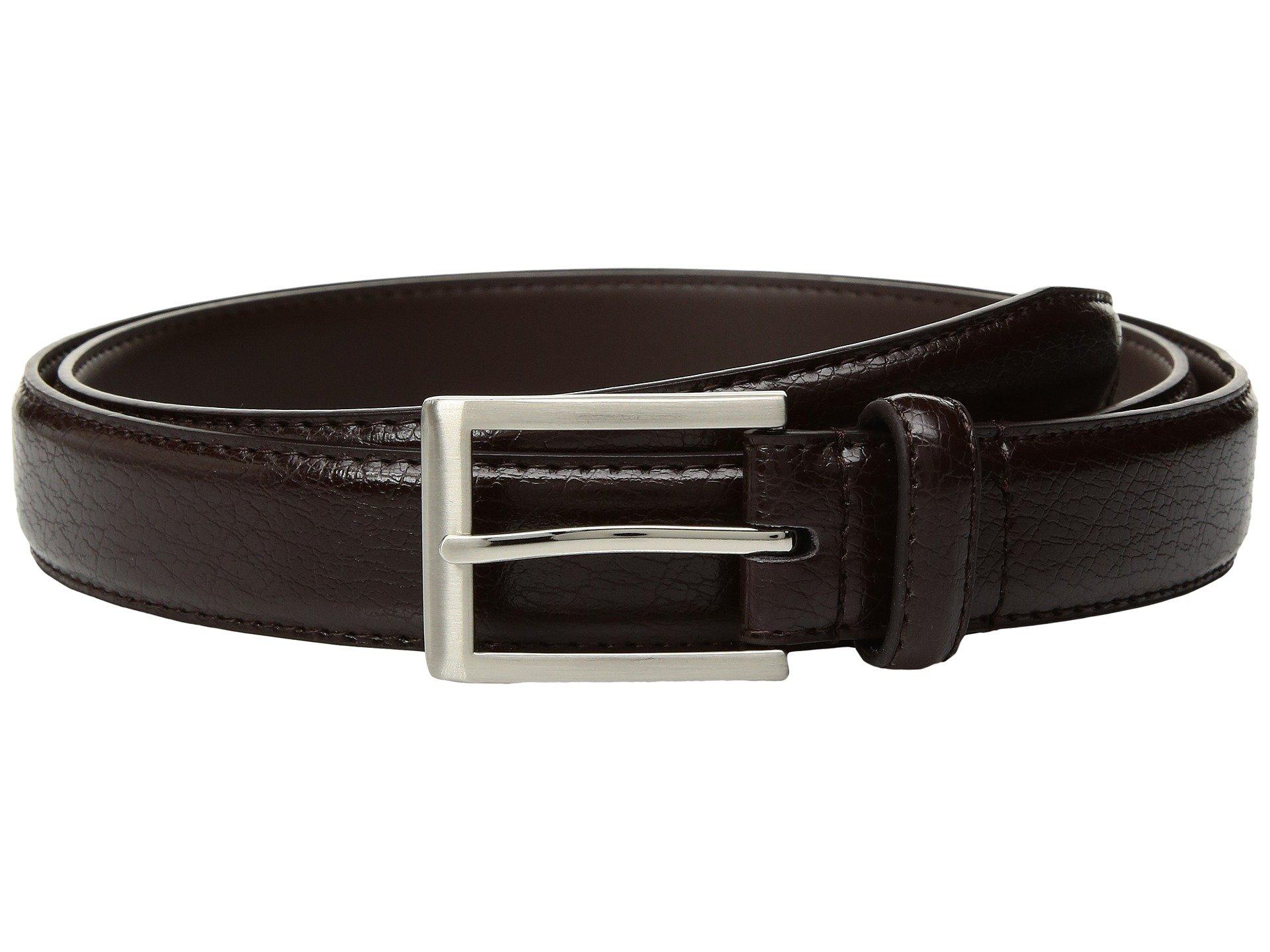 Correa o Cinturon para Hombre Florsheim Crackle Grain Belt  + Florsheim en VeoyCompro.net