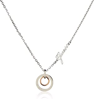 Guess Womens Stainless Steel Fashion Necklace - UBN29037, Color Silver, Size 45 cm