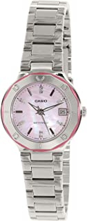 Casio Core Quartz Movement Mother Of Pearl Dial Ladies...