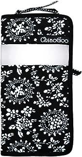 CHIAOGOO White Ribbon Double Point Empty Needle Case, 6-Inch
