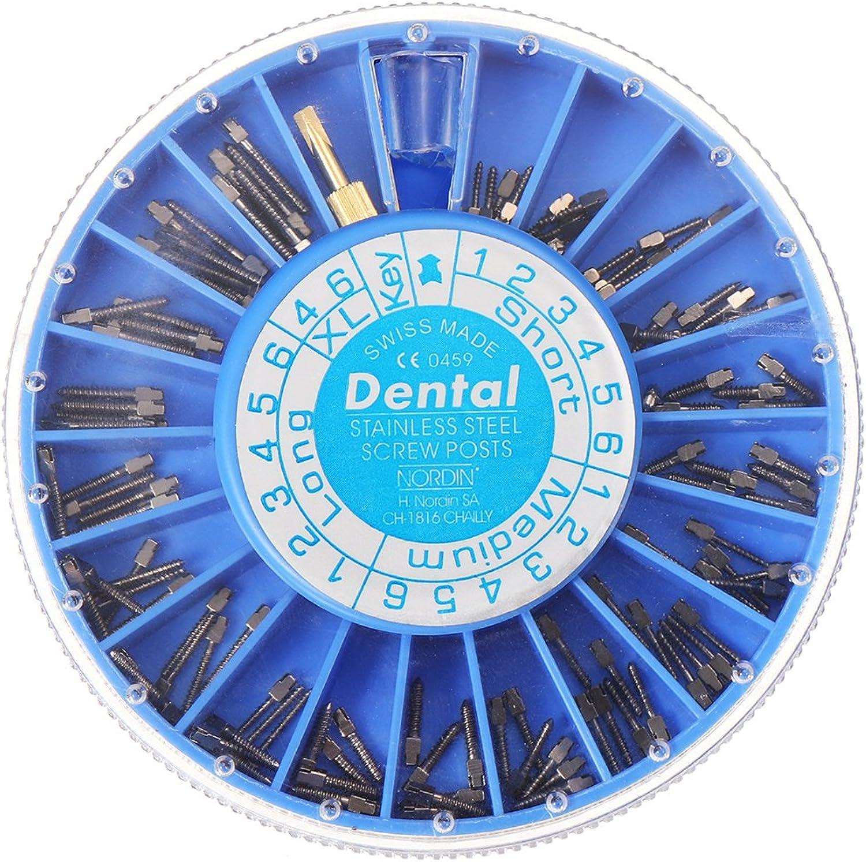 QIZIANG 120 Stücke Edelstahl Dental Konische Schrauben Wurzelkanal Nagel Dental Werkzeuge S M L XL Größe Hot B07Q6TLVN8 | Rabatt