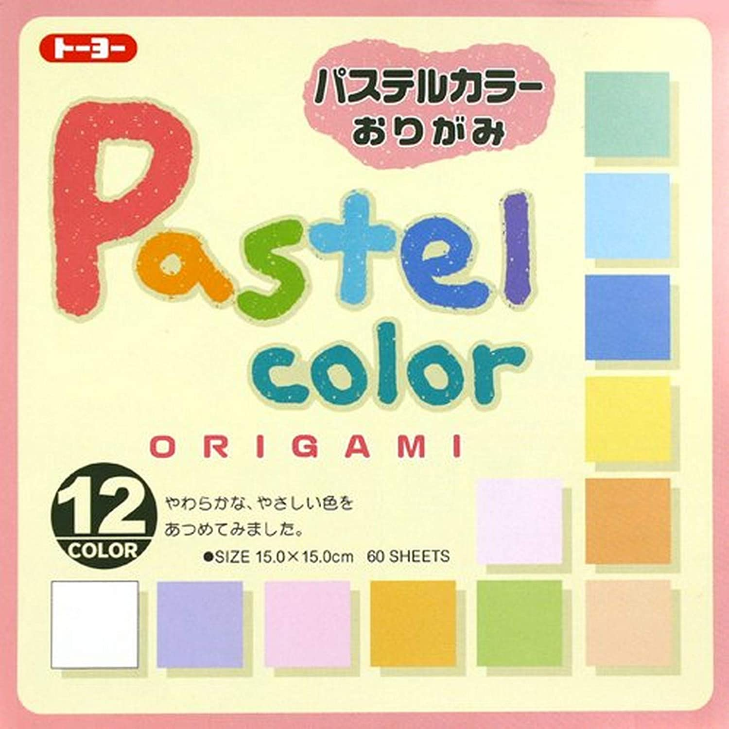 JapanBargain Japanese Origami Folding shipfree Paper Ranking TOP10 Pastel Col Color 12