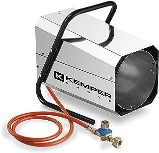Kemper QT101RINOX - Generador De Aire Caliente, Shape Estructura Octogonal De Acero Inoxidable, 19.9 Kw