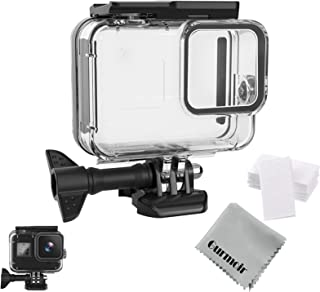 Gurmoir Waterproof Protective Housing Case For Gopro Hero 8 Black Camera Diving Underwater, 50m Underwater Dive Protective...