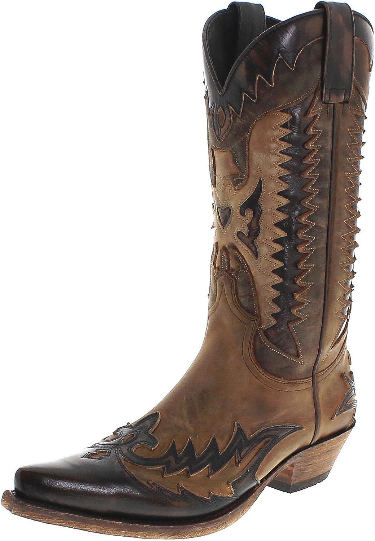 FB Fashion Stiefel Sendra Stiefel 13040 Mad Dog Tang Lavado Cowboystiefel Für Herren Braun